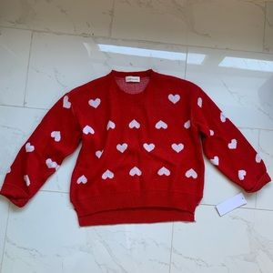 Goodnight Macaroon Heart Sweater